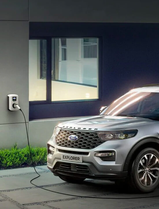 Ford Explorer Plug-In-Hybrid Ladekabel