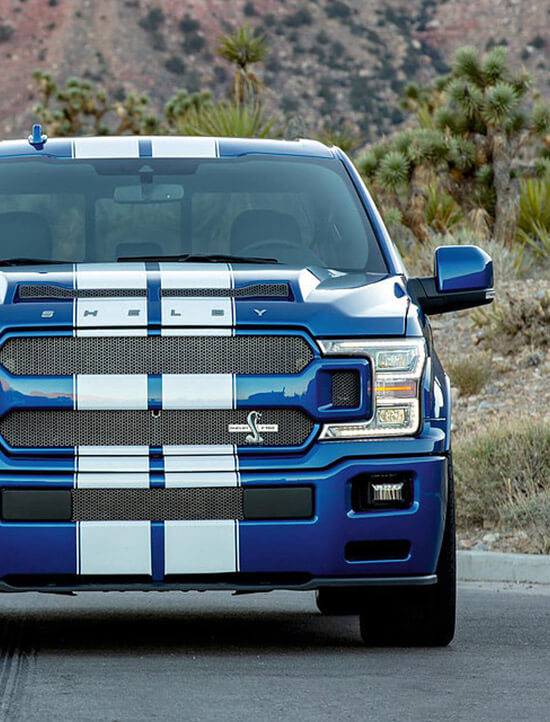 Shelby F-150 Frontansicht