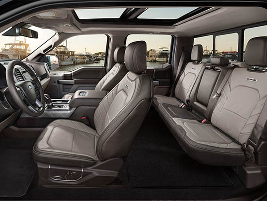 Ford F-150 Limited Interieur
