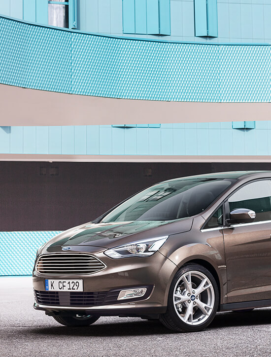 Ford C_Max Business Edition braun Straße