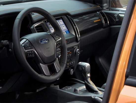 Ford Ranger Interieur